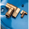Polyethylene Drum Faucet -- DRM347 -Image