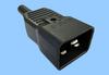 16A/250V IEC 60320 Sheet I ReWireable Plug -- 83011391 - Image