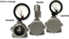 Hazardous Location Differential Pressure Gauge -- 1204PGS - Image