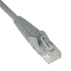 Cat6 Gigabit Snagless Molded Patch Cable (RJ45 M/M) - Gray, 30-ft. -- N201-030-GY
