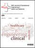 Translational Engineering in Health and Medicine, IEEE Journal of -- 2168-2372