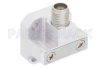 WR-28 Square Cover Flange to 2.92mm Female Waveguide to Coax Adapter Operating from 26.5 GHz to 40 GHz -- PE9826 - Image