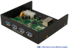 4-Port SuperSpeed USB 3.0 Front Panel Hub &#8230 -- FPH431