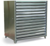 Stainless Steel Print Storage Cabinet -- 4.24.2-360-12DB-SS