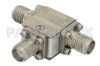 Circulator With 20 dB Isolation From 11 GHz to 18 GHz, 10 Watts And SMA Female -- PE8405 - Image