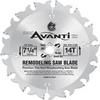 Freud Tk503 Avanti, Carbide Blade Thin Kerf Remodeling -- BLADECARREM14T714