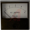 Ammeter; 0 to 5 ACA; + 2%; 2-1/2 in.; 2%; 2.16 in.; 0.140 in.; -20 to degC -- 70209457
