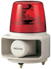 ROTATING, LAMP, WITH, ALARM, RED -- 07H2302