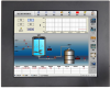 17 Inch Panel Mount Industrial Panel PC with embedded CPU