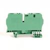 IEC Term Blck 8.1x65x38mm Spr Clp -- 1492-L6-G -Image