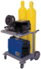 Inverter Cart,Holds 2 Cylinder -- IV-2