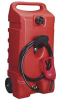 Flo N' Go DuraMax 14-Gallon Gas Can w/ Fuel Siphon -- Model 6792