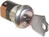 Switch, Keylock; SP; 250VAC; 2A; Keypull POS 1,2,3; Solder lug -- 70128593 - Image