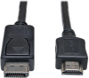 DisplayPort to HDMI Adapter Cable (M/M), 1080p, 25 ft. -- P582-025 -- View Larger Image