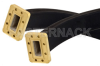 WR-137 Twistable Flexible Waveguide 12 Inch, CPR-137G Flange Operating From 5.85 GHz to 8.2 GHz -- PE-W137TF006-12 - Image