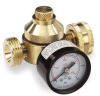 Water Pressure Regulator,3/4In,W/ Gauge -- 5AJ90