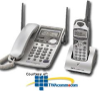 Panasonic 2.4GHz Cordless Phone w/Corded Base Phone -- KX-TG2564S