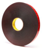 3M VHB Tape 5925 Black 1 in X 72 yd Roll -- 5925 1IN X 72YDS -Image