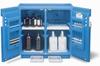 Justrite Polyethylene Acid Cabinet -- CAB220