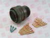 IPI MS3406D22-19PY ( CIRCULAR CONNECTOR PLUG 14PIN CRIMP TYPE AVAILABLE, SURPLUS, NEVER USED, 2 YEAR RADWELL WARRANTY ) -Image