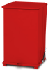 Silent Defenders Medical Waste Container Step Can -- GPR499-RED