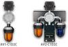 Detcon Hazardous Duty Alarm Station Class 1, Division 2 Continuous Tone -- AV2-C1D2C