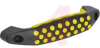 Handle, soft touch, blk/yellow -- 70097681