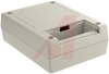 Box; High Impact ABS; Textured Body with Smooth Top Insert; Sheet Metal; Gray -- 70148264