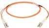 Multimode, 50-Micron Duplex Fiber Optic Cable, PVC, LC–LC, 2-m (6.5-ft.) -- EFN6020-002M