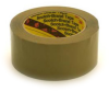 3M Scotch 375 Box Sealing Tape Tan 72 mm x 50 m Roll -- 375 72MM X 50M TAN - Image
