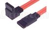 SATA Cable, Straight/Right Angle, 1m -- CASATAR-1M
