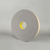 3M 4314 Urethane Foam Tape Charcoal Gray 0.5 in x 18 yd Roll -- 4314 1/2IN X 18YDS