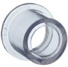 Clear PVC Pipe Fitting, Reducer Bushing, Schedule 40