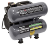 Pro Woodworker 4-Gallon Twin Stack Oil Lube Air Compressor -- Model 9526