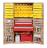 """Heavy-Duty All-Welded Storage Cabinets - 36"""" Wide - QSC-BG-3672-4D - Image"""