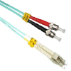 10m LC-ST 10Gb 50/125 LOMMF M/M Duplex Fiber Cable (32.8ft) -- 1026-SF-32 - Image