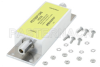 160 MHz to 163 MHz Positive Train Control (PTC) Band Pass Filter, Type N Female to Female, 100W CW, IP67, 50uJ, 10kA with Surge Protection -- PE73SP1046 - Image