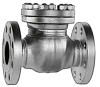Flanged or Weld End Swing Check Valve -- STAAL 100 AKK/AKKS