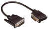 DVI-D Dual Link DVI Cable Male / Male Right Angle, Right 1.0 ft -- MDA00033-1F -Image
