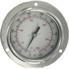 Panel Mount Bimetal Stem Thermometer -- Series BTPM