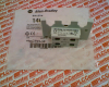 ALLEN BRADLEY 140-CT01-10 ( TRIP INDICATING AUXILIARY CONTACT FOR 140-CMN, N.C./N.O., INT. FRONT MOUNTED, 2-POLE ) -- View Larger Image