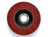 3M Cubitron II 967A Type 27 Coated Ceramic Aluminum Oxide Flap Disc - 40 Grit - 4 1/2 in Diameter - 55632 -- 051141-55632 - Image