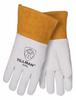 Tillman White/Gold Large Grain Kevlar/Leather Welding Glove - Straight Thumb - TILLMAN 24C LG -- TILLMAN 24C LG