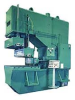 C-Frame Flanging Press with Vertical and Horizontal Rams