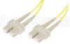 50/125, Multimode Fiber Cable, Dual ST / Dual ST, Blue 10m -- FODST50-BL-10