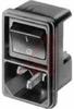 Module, Power Entry; Snap-In; 2 mm; 250VAC; gt 2.5 kV (L-N)/gt 3 kV (L/N-PE); 2 -- 70080787