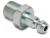 Pneumatic Plug: quick-disconnect, steel, 1/4in ID 3/8in male NPT -- HCP14-38M-L -- View Larger Image
