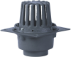 Cast Iron Flanged Roof Drain -- RD28 -- View Larger Image