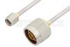 SMA Male to N Male Cable 36 Inch Length Using PE-SR402AL Coax -- PE34265-36 -Image