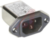Filter, EMI; 1 A (RMS) (Max.) @ 250 VAC; 250 VAC; 50/60 Hz; 0.40 mA (Max.) -- 70133318 - Image